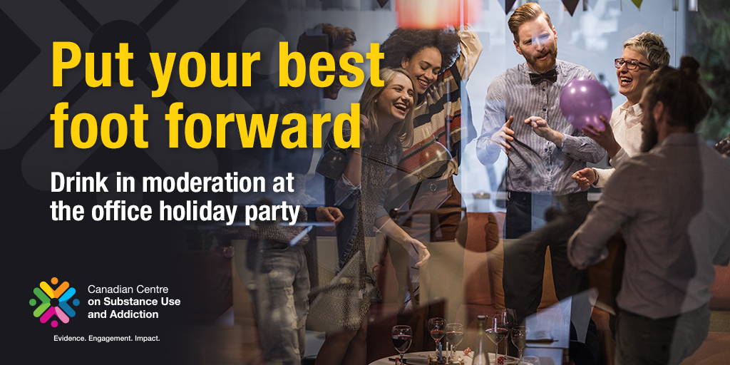Put Your Best Foot Forward: Drink in Moderation at the Office Holiday Party