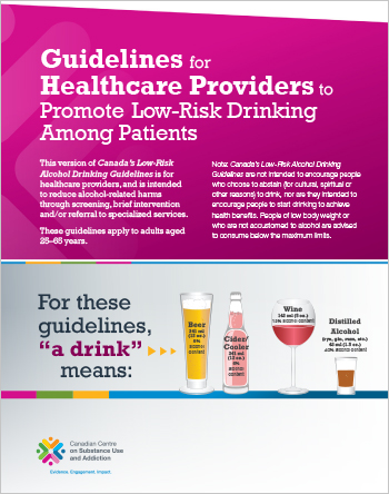 Guidelines for Healthcare Providers to Promote Low-Risk Drinking Among Patients