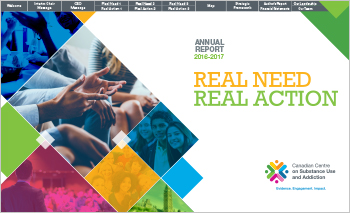 Real Need – Real Action: CCSA Annual Report, 2016-2017