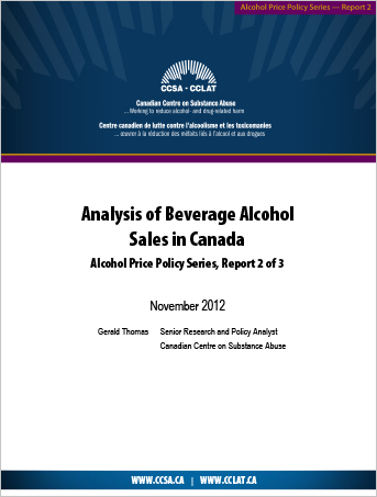 Analysis of Beverage Alcohol Sales in Canada