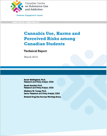 Cannabis Use, Harms and Perceived Risks among Canadian Students: Technical Report