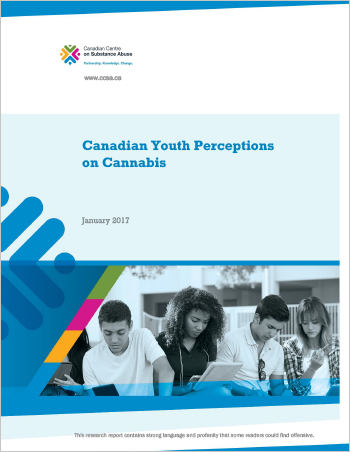 Canadian Youth Perceptions on Cannabis (Report)