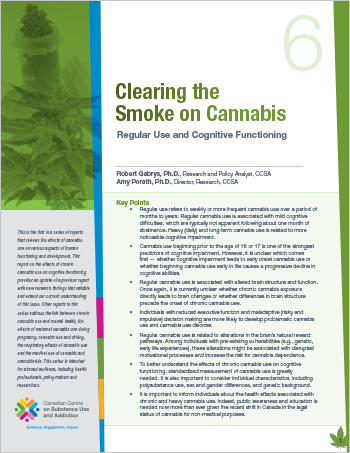 Clearing the Smoke on Cannabis: Regular Use and Cognitive Functioning