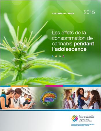 Les effets de la consommation de cannabis pendant l'adolescence (Rapport)