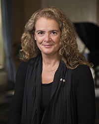 Governor General Julie Payette