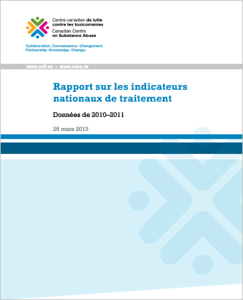 Rapport sur les indicateurs nationaux  de traitement : données de 2010-2011