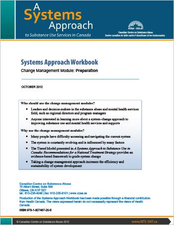 Systems Approach Workbook: Change Management Module: Preparation