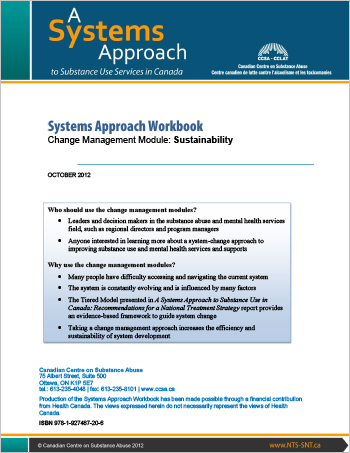 Systems Approach Workbook: Change Management Module: Sustainability