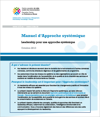 Manuel dApproche systémique : Leadership pour une approche systémique