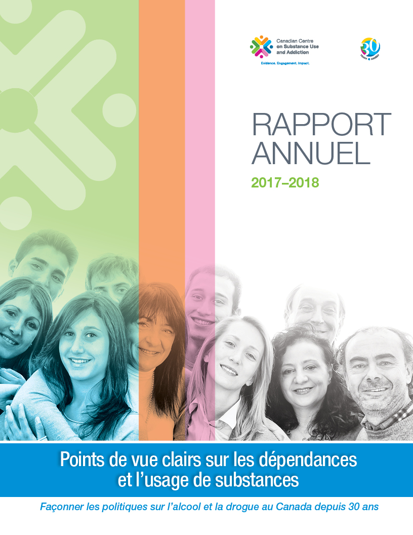 Annual Report 2017-2018 - portrait cover french
