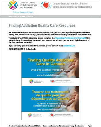 Finding Addiction Quality Care Resources