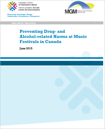 Summary of a stakeholder meeting regarding prevention of drug- and alcohol-related harms at Canadian music festivals.