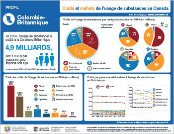 Coûts et méfaits de l'usage de substances en Colombie-Britannique