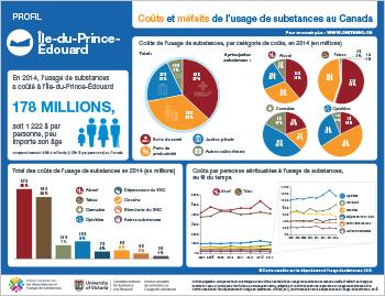 Coûts et méfaits de l'usage de substances à l'Île-du-Prince-Édouard