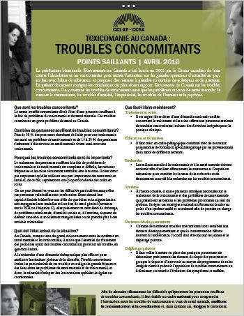 Troubles concomitants : Points saillants