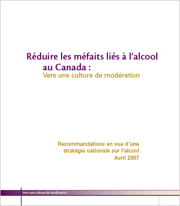 Réduire les méfaits liés à l'alcool au Canada : Vers une culture de modération