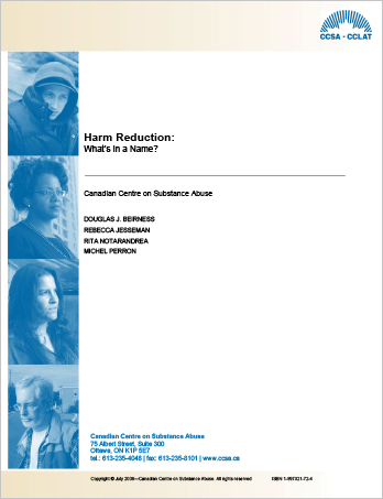 Harm Reduction: What's in a Name?