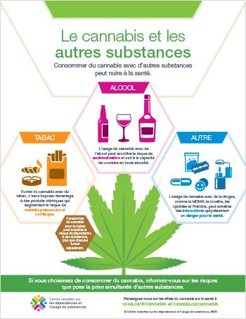 Le cannabis et les autres substances [infographie]