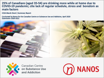 COVID-19 and Increased Alcohol Consumption:NANOS Poll Summary Report