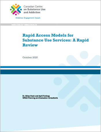 Rapid Access Models for Substance Use Services: A Rapid Review